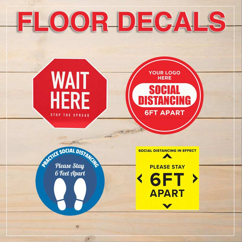 Custom Floor Decals