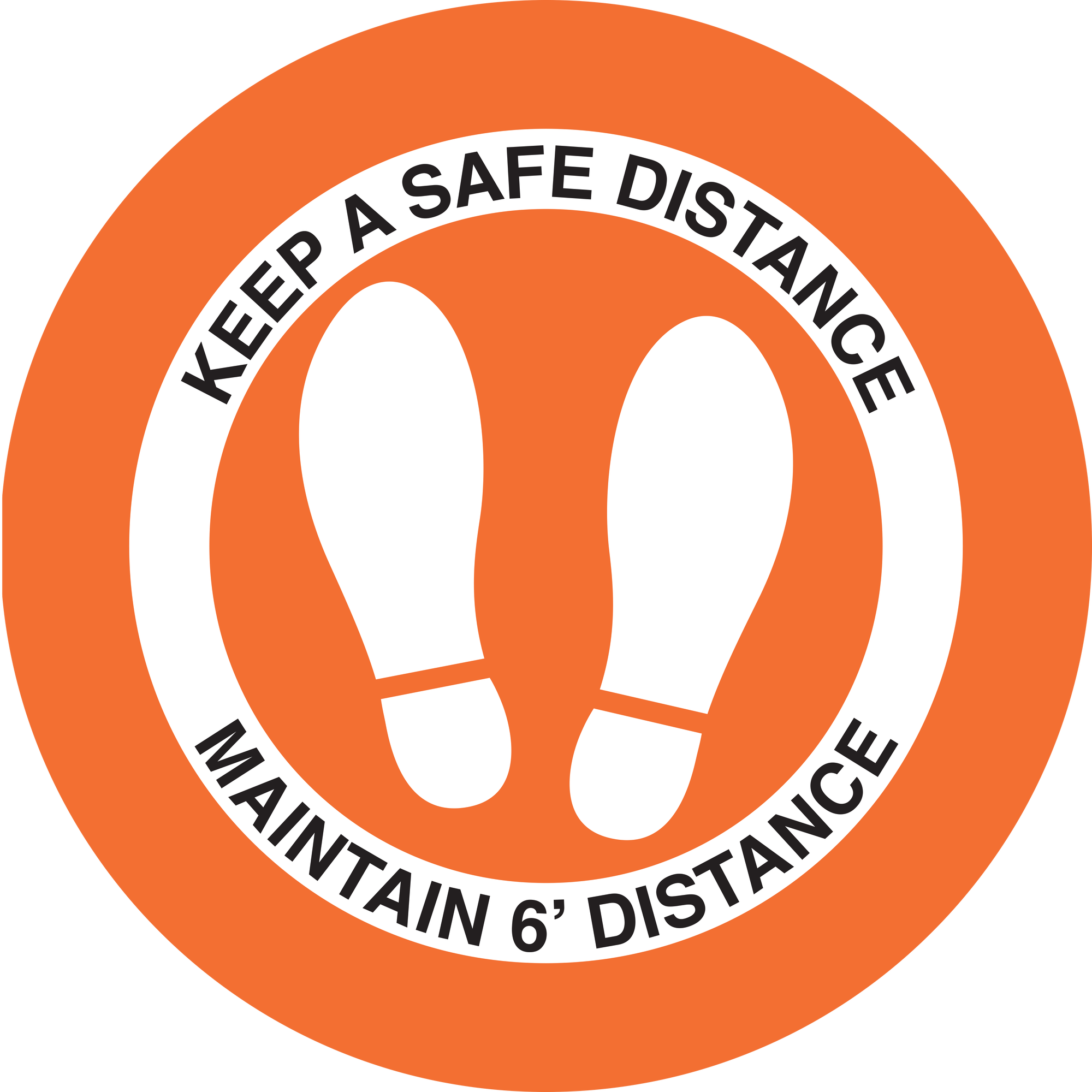 Keep Safe Orange